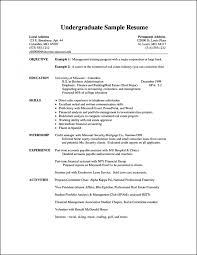Resume Examples For Students Cv Incredible College Pdf Australia With No Work Experience 1400