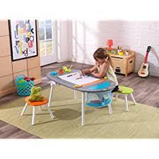 Kidkraft Easel Desk Espresso by Amazon Com Kidkraft Chalk Board Easels Toys U0026 Games
