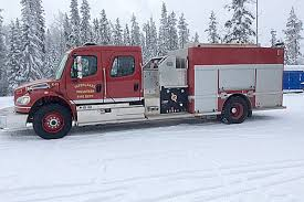 100 Black Fire Truck CRD To Replace 14 Fire Trucks Before 2023 Williams Lake Tribune