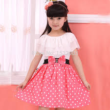 Teenage Girls Fashion Dresses Clothes For Teenagers Girl 2015 Lace Princess Summer Vestidos Meninas Dot In From Mother Kids