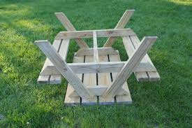 easy diy kid sized picnic table kids picnic table plans