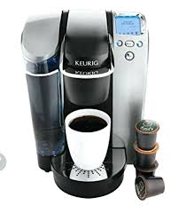 One Cup Keurig Platinum Brewing System Single Serve Office Pro Cups And Bar
