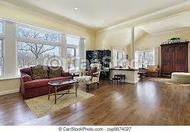 wohnzimmer mit weißer säule wohnzimmer im luxushaus mit