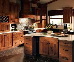 Kitchen Ideas Rustic Style Cabinet Hickory Cabinets Design
