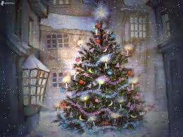 Thomas Kinkade Christmas Tree Train by Thomas Kinkade Christmas Tree Christmas Lights Decoration