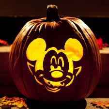 Mickey Mouse Pumpkin Stencils Free Printable by Vampire Mickey Pumpkin Carving Template Disney Family