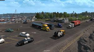 100 Truck Simulators American Simulator Oregon DLC ATS Mod American
