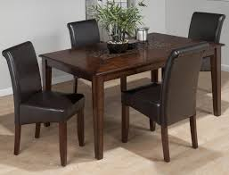 baroque brown dining table with mosaic tile inlay tables