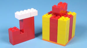 how to build lego christmas gift u0026 stocking 4630 lego build