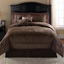 Bed Skirts Queen Walmart by Mainstays Safari 7 Piece Bedding Comforter Set Walmart Com