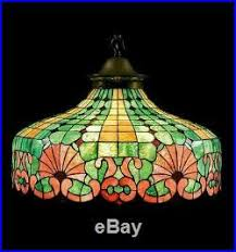 Duffner And Kimberly Lamp Base by June 2016 Slag Glass Lamp