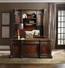 Amazon Hooker Furniture Grand Palais Executive Desk in Dark Walnut Kitchen & Dining
