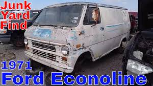 1971 Ford Econoline Van Junk Yard Find