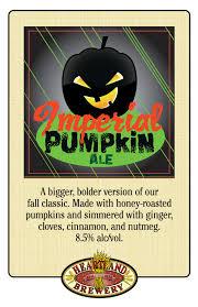 Imperial Pumpkin Ale by Imperial Pumpkin Ale Heartland Brewery