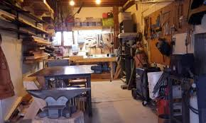 how to turn your garage into a blacksmithing u0026 woodworking shop
