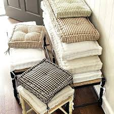Chair Cushions Foam How To Make A Cushion With Awesome Essential Farmhouse Of