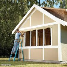 Diy 4x8 Storage Shed by Diy Shed Building Tips Family Handyman