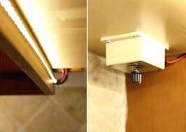 install cabinet lighting led installing kitchen in