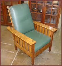 Charles Stickley Rocking Chair by Voorhees Craftsman Mission Oak Furniture Morris Chairs