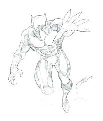 Black Panther Coloring Pages Printable Pencil Drawings Animal