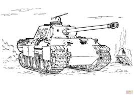 Click The Panther Tank Coloring Pages To View Printable Version Or Color It Online Compatible With IPad And Android Tablets