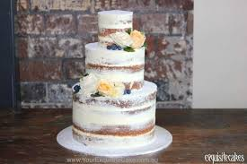 Naked Rustic Homestyle Celebration Cakes