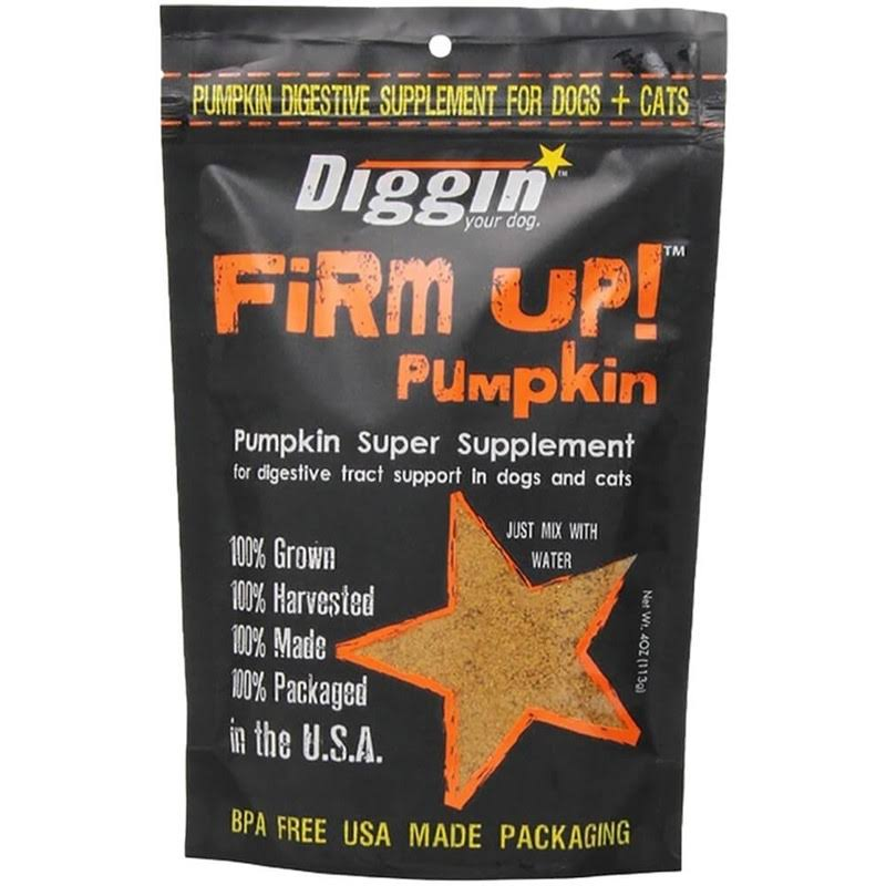 Diggin' Your Dog Firm up Pumpkin Super Supplement