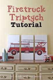 DIY Firetruck Triptych Artwork | Firetruck, Triptych And Barn Spain Hill Farm Pottery Barn Inspired Horse Triptych Affordable Diy Artwork By Rock Your Best 25 Barn Decorating Ideas On Pinterest Inspired Wall Art My Mommy Style Designs Top Designing Family Room Wall Art Plaques Ideas Design White Background Reclaimed Wood Two It Yourself Knockoff Chalkboard Frames 107 Best Gallery Images Framed Youre Invited Turn Kids Into Custom Book Refresh Home With Ashby Flower Frame Art Work Photo Bedroom Decor Tips Wonderful Swivel Desk Chair And Desks