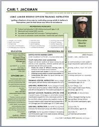 Military Transition JROTC High School Educator Networking Resume Sample