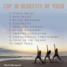 Top Ten Benefits Of Yoga