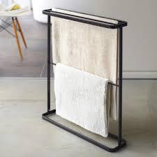 yamazaki handtuchständer tower handtuchhalter bad freistehend für 4 handtücher und 1 matte kaufen otto