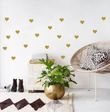 gold wall decals 4 wall stickers room
