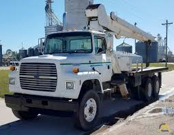 100 Boom Truck National Series 600 Model 656 Crane On Ford L8000 For