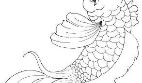 Pin Koi Fish Clipart Coloring 5