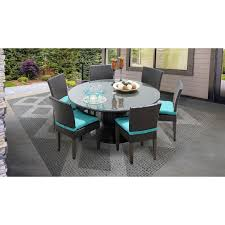 Belle 60 Inch Outdoor Patio Dining Table With 6 Armless Chairs | EBay Walnut Ding Tables Custmadecom How To Choose The Right Ceiling Light Fixture Size At Lumenscom Kitchen Fniture For Sale Prices Brands Stana Montrose Round Room Set From Lexington Coleman 8 Seat Youll Love Wayfair Modern Contemporary Cantoni 42 Sets Table Chair Combinations That Just Odd Fold Down Amazing Folding With Design And Living Chairs Accent Lazboy On Saleinspirer Studio Of 6 New 17 Inch Seatdepth Eames Style Palouse Customwoodworks Welcome Dinettes Unlimited