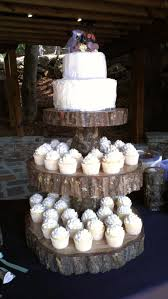 How Beautiful Is This Rustic Cake Stand