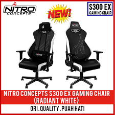 NITRO CONCEPTS S300 EX GAMING CHAIR (STEALTH BLACK / INFERNO RED / RADIANT  WHITE) Akracing Core Series Blue Ex Gaming Chair Nitro Concepts S300 4 Color Available Nitro Concepts Iex Gravity Lounger Gamer Bean Bag Black 70cm X 80cm Large Video Eertainment Bags Scan Pro On Twitter Ending Something You Can Accsories Kinja Deals You Can Game Like Ninja With This Discounted Summit Desk Ln94334 Carbon Inferno Red