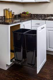 Under Cabinet Trash Can With Lid by 45 Best Easy Install Cabinet Organizers Images On Pinterest