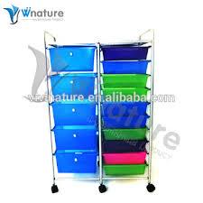 Plastic Drawers On Wheels by Plastic Storage Trolley To Storage Drawers On Wheels Buy Plastic