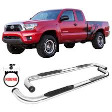 100 Truck Step Up Amazoncom Side Bar Fits 20052018 Toyota Tacoma Access