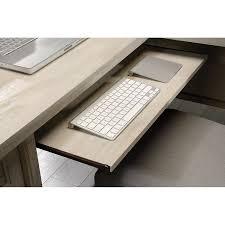 Sauder L Shaped Desk Salt Oak by Amazon Com Sauder Costa L Desk Chc A2 Kitchen U0026 Dining