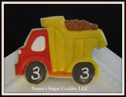 100 Dump Truck Cookies Nannys Sugar LLC