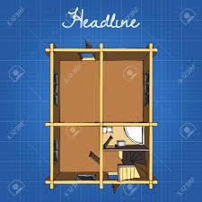 die aufteilung des hauses im ersten stock küche bad esszimmer wohnzimmer und treppe zum zweiten stock