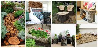 100 Www.home And Garden 15 Fantastic DIY Home Wood Log Decorations
