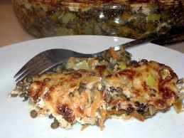 cuisine lentille recette gratin de lentilles aux petits légumes cuisinez gratin de