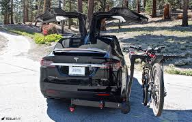Installing A Tesla Model X Bike Rack: Once You Go FullSwing, You ... Bike Racks Bicycle Carriers Trunk Hitch Tire Hollywood Rack For 5 Fat Tires Mtbrcom Cascade Rack Kuat Pivot Mount Swing Away 4bike Universal Truck By Apex Discount Ramps Cap World Sampling The Yakima Fullswing Hitchmounted Bicycle Hooniverse Receiver For Reviews Genuine Freedom Car Saris Attack Bostons Blog Amazoncom Allen Sports Premier Mounted 5bike Carrier Best Hitch Mount 4 Bike Thule Helium Aero 3bike Evo