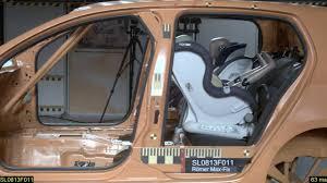 crash test siege auto bebe römer max fix crash test