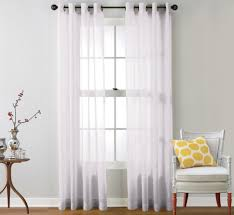 Gray Sheer Curtains Bed Bath And Beyond by Coffee Tables Serenade Sheer Window Curtain Panels Bed Bath