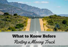 Before You Rent A Moving Truck, Here's What To Know | Rental Trucks