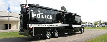 100 Food Trucks In Santa Monica Police Department Mobile Command Unit LDV